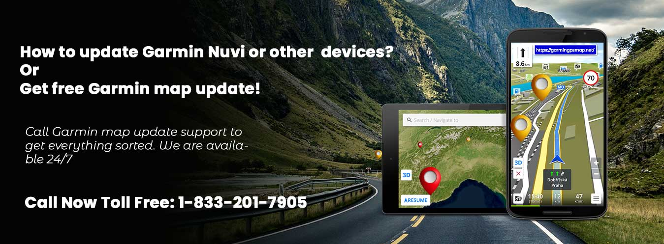 Garmin Customer Service 1-833-201-7905 For Garmin Map Update
